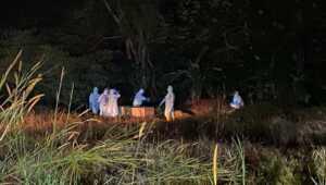 Pemakaman jenazah pasien COVID-19 di Sememal, Kelurahan Pasirpanjang, Kecamatan Meral Barat, Kabupaten Karimun, Kepulauan Riau beberapa waktu lalu. (foto: istimewa)