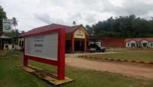 Markas Kepolisian Sektor Palmatak, Kabupaten Kepulauan Anambas, Provinsi Kepulauan Riau.